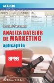 Analiza datelor de marketing. Aplicatii in SPSS