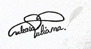 Semnatura Iuliana Tomuleasa