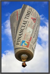 Financial Times Hotair Balloon