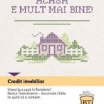 Banca Transilvania Italia lanseaza primul credit imobiliar destinat persoanelor din Italia care doresc sa achizitioneze imobile in Romania