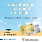 Bilete de avion cu plata in 3 rate cu cardul BT Flying Blue