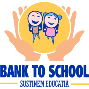 Logo Bank to School