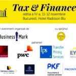 TAX & FINANCE EDITIA A IV-A, 11-12 NOIEMBRIE 2015
