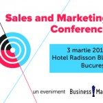 Sales & Marketing Conference 3 MARTIE 2016
