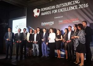 Romanian Outsourcing Awards winners