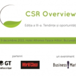 CSR Overview. Tendinte si oportunitati