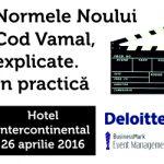Normele Noului Cod Vamal, explicate. In practica, 26 aprilie 2016