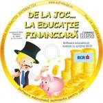 "BCR demareaza programul dedicat copiilor prescolari ""De la Joc la Educatie Financiara"""