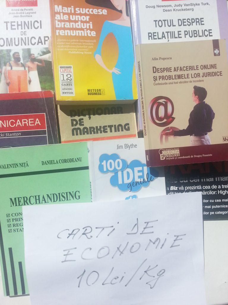 carti de economie 10 lei kg