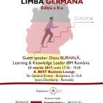 """A doua editie """"Ascensiunea in mediul de business prin limba germana"""""""